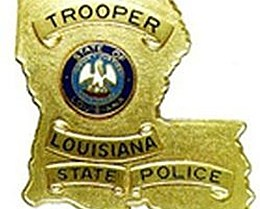 Louisiana State Police Badge