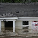 Flooding  (Photo by Scott Olson/Getty Images)