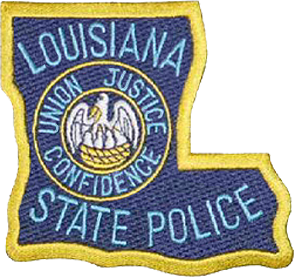 Louisiana State Police Patch
