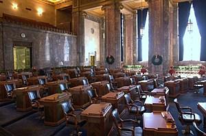 State Senate Chambers - Louisiana State Capitol - Baton Rouge