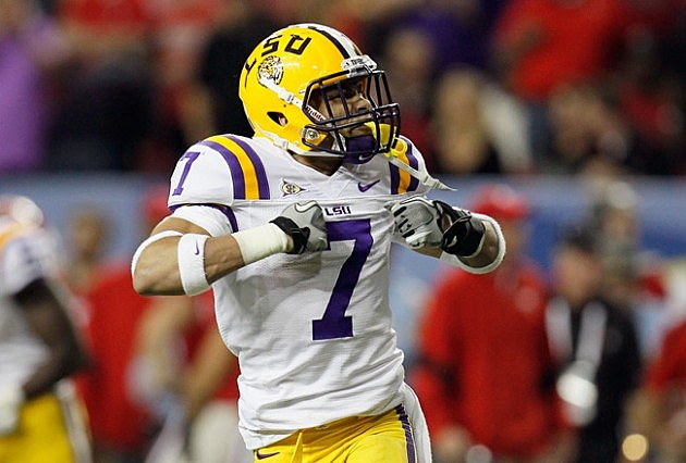"Tyrann Mathieu ""Honey Badger"""