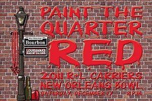 Paint the Quarter Red