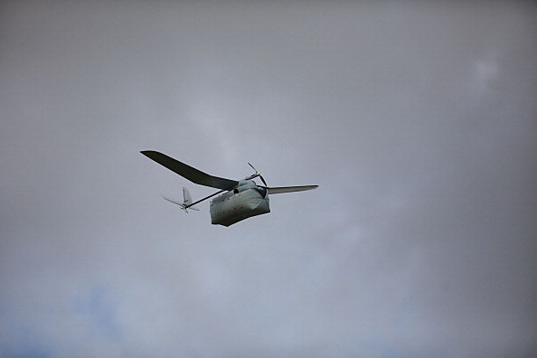 surveillance drone (Photo by Uriel Sinai/Getty Images)