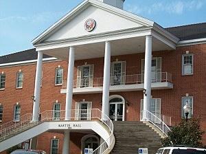 Martin Hall, University of Louisiana at Lafayette