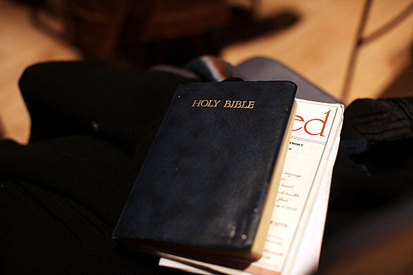 Bible (Photo by Spencer Platt/Getty Images)