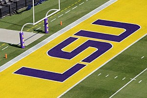 LSU Tiger Stadium Endzone