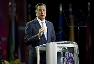Mitt Romney Addresses NAACP National Convention