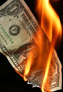 American Money on Fire