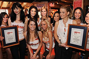 Hooters Girls, Rick Diamond, Getty Images