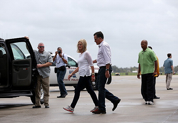 Romney Visits Hurricane-Striken Louisiana