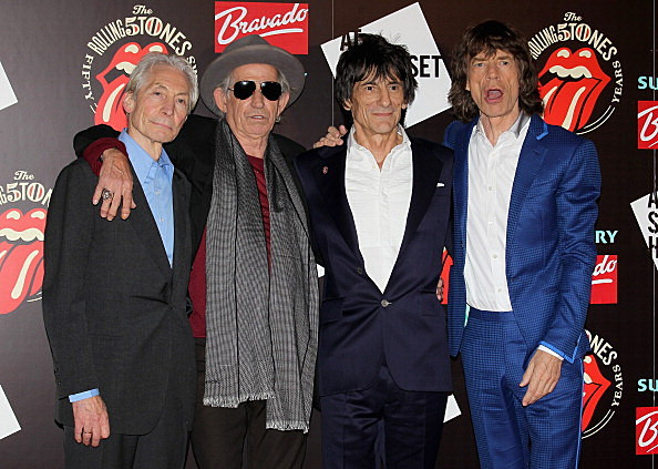 Rolling Stones (Photo by Chris Jackson/Getty Images)