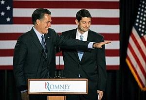 Mitt Romney Holds Primary Night Gathering