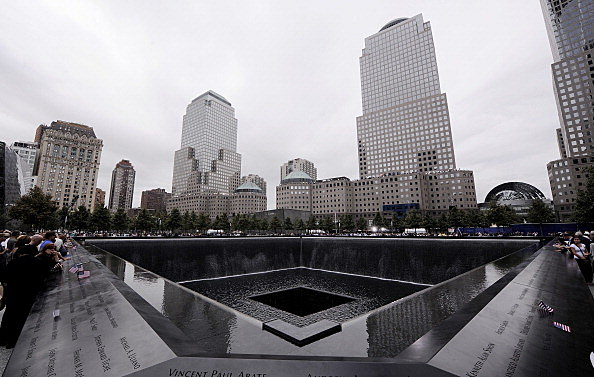 911 Memorial (Photo by Justin Lane-Pool/Getty Images)