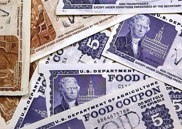 food stamps Getty image by Tim Boyle