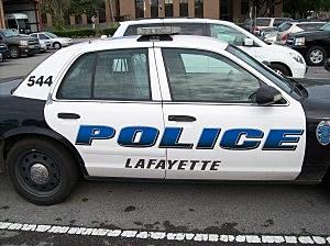 Lafayette Police Cruiser