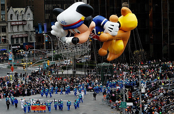 Macy's Thanksgiving Day Parade (Photo by Chris Hondros/Getty Images)