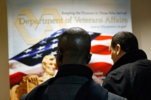 Dept. Of Veterans Affairs Hosts Job Fair For Military Vets