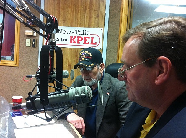 Lloyd King and Tom Thompson photo by KPEL
