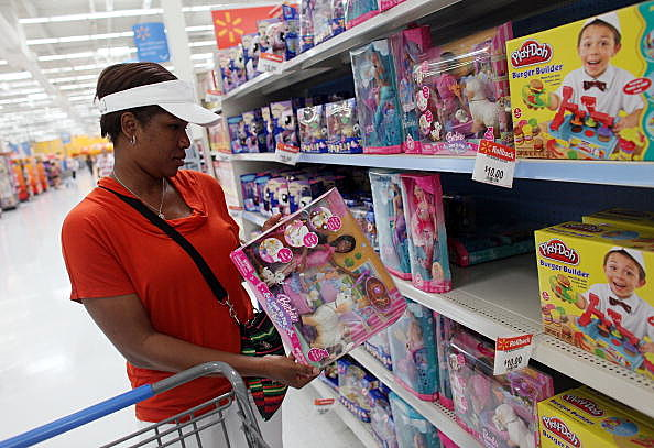 Walmart Toys Just For Girls : Walmart wants your money now