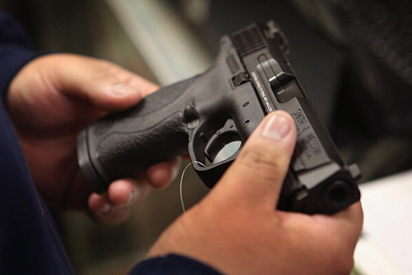 handgun (Photo by Scott Olson/Getty Images)