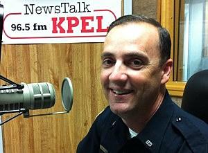 Cpl. Paul Mouton Laf. Police PIO KPEL photo 020713