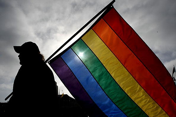 gay pride flag (Photo by Justin Sullivan/Getty Images)