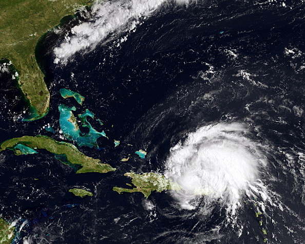 hurricane (Photo by NOAA via Getty Images)