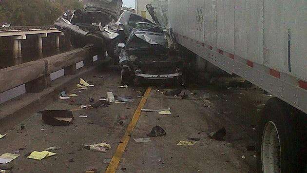 I-10 crashes, State Police