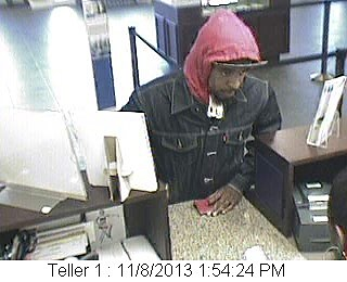 Whitney Bank Robbery Suspect, Lafayette Police Department