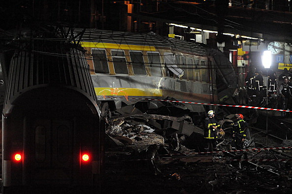 train derailment  (Photo by Antoine Antoniol/Getty Images)