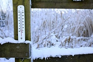 Freezing Thermometer (Photo illustration by Christopher Furlong/Getty Images)