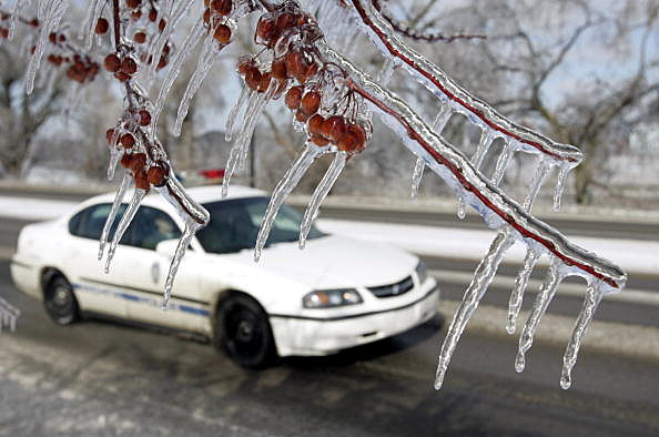 State Emergency Declared As Winter Storms Batter Kansas