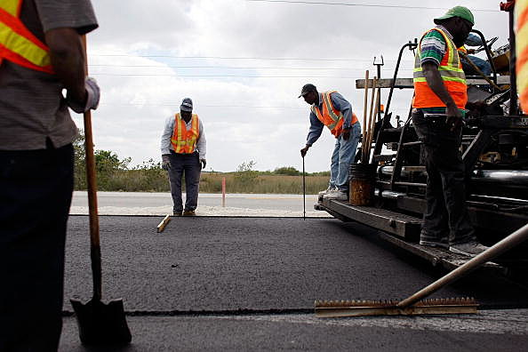 road construction (Photo by Joe Raedle/Getty Images)
