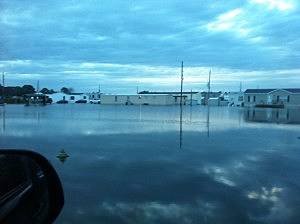 Water Draining South from Carencro into Scott and Lafayette, Submitted Photo
