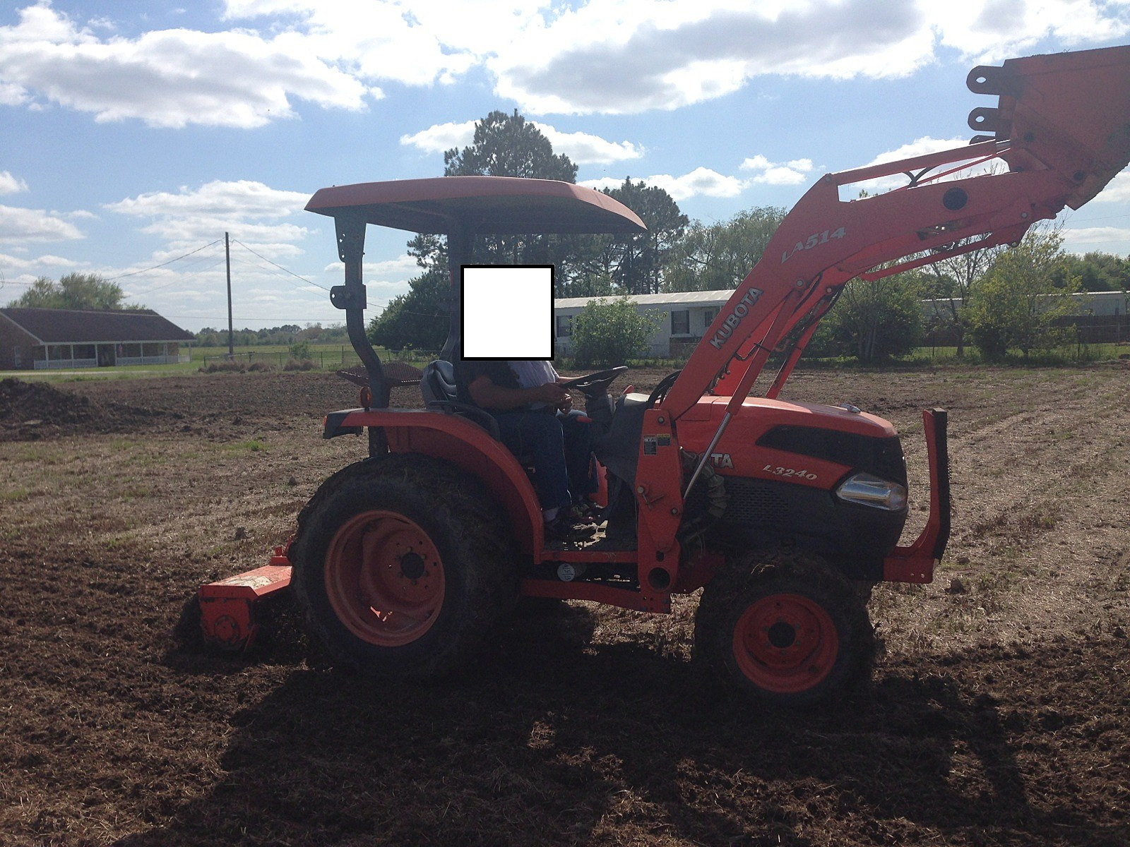 Stolen Tractor, Breaux Bridge Police