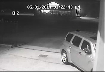 Vehicle Used In Burglary 2, photo courtesy of the Acadia Parish Sheriff's Office