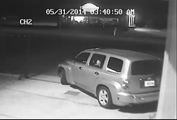 Vehicle Used In Burglary 3, photo courtesy of the Acadia Parish Sheriff's Office