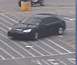 burglary suspect vehicle surveillance photo Lafayette Police
