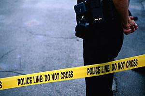 crime scene tape Getty Images