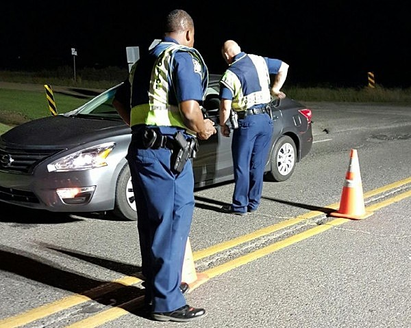 Sobriety Checkpoint Photo Courtesy of Louisiana State Police