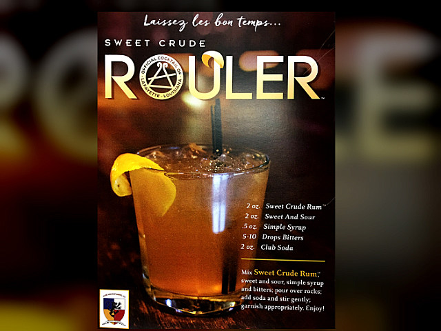 Sweet Crude Rum Rouler recipe