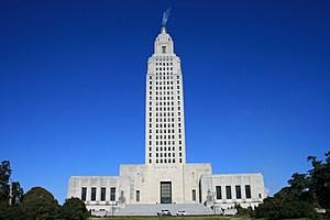 Louisiana State Capitol (wikimedia commons)
