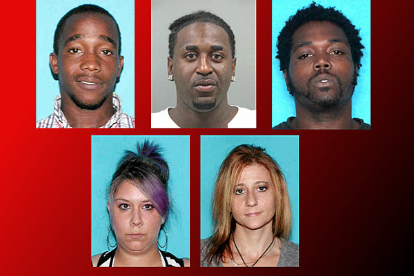 Five Arrested Following St Martinville Shooting