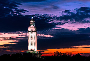 State Capitol at Dusk (wikimedia commons)