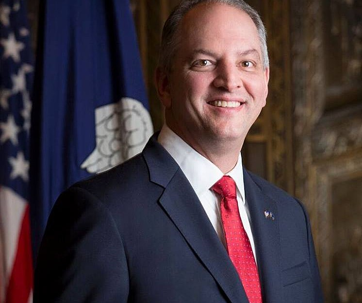 Governor John Bel Edwards, Facebook