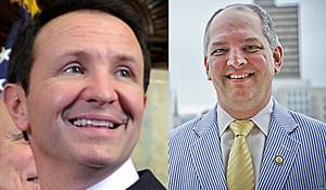 AG Jeff Landry--Gov John Bel Edwards (File Photos)