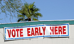 Early Voting Begins In Swing State Of Nevada