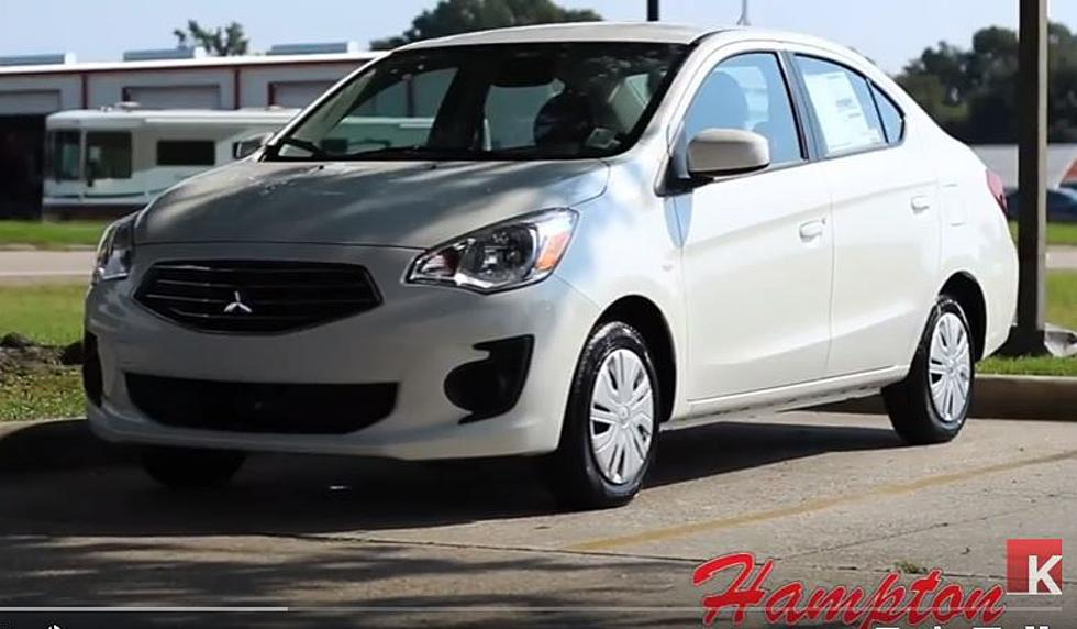 2018 Mitsubishi Mirage Is Right For Travel