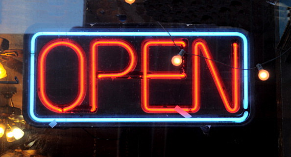 Open Sign, Getty Images