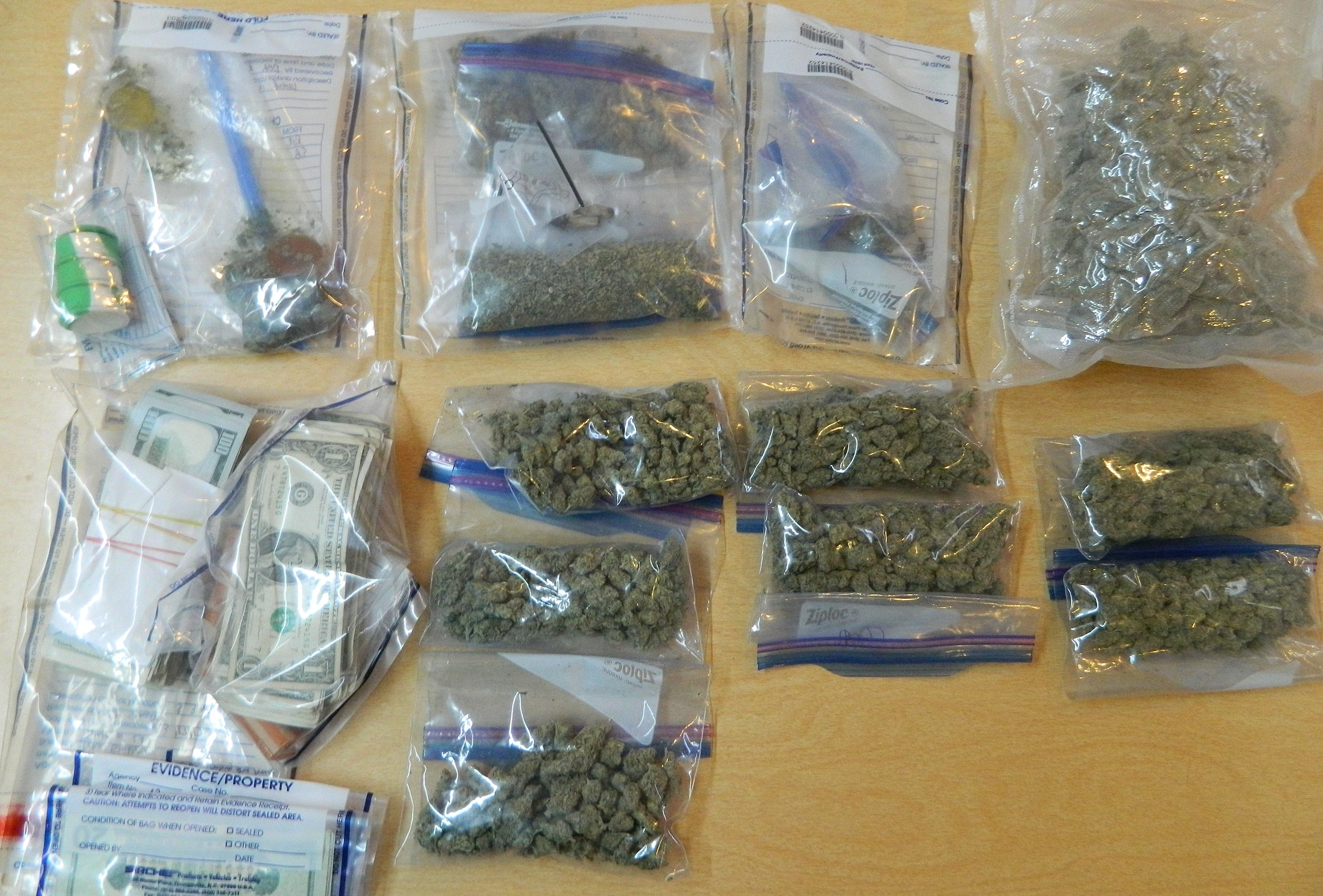 Drugs, photo courtesy of St. Mary Parish Sheriff's Office